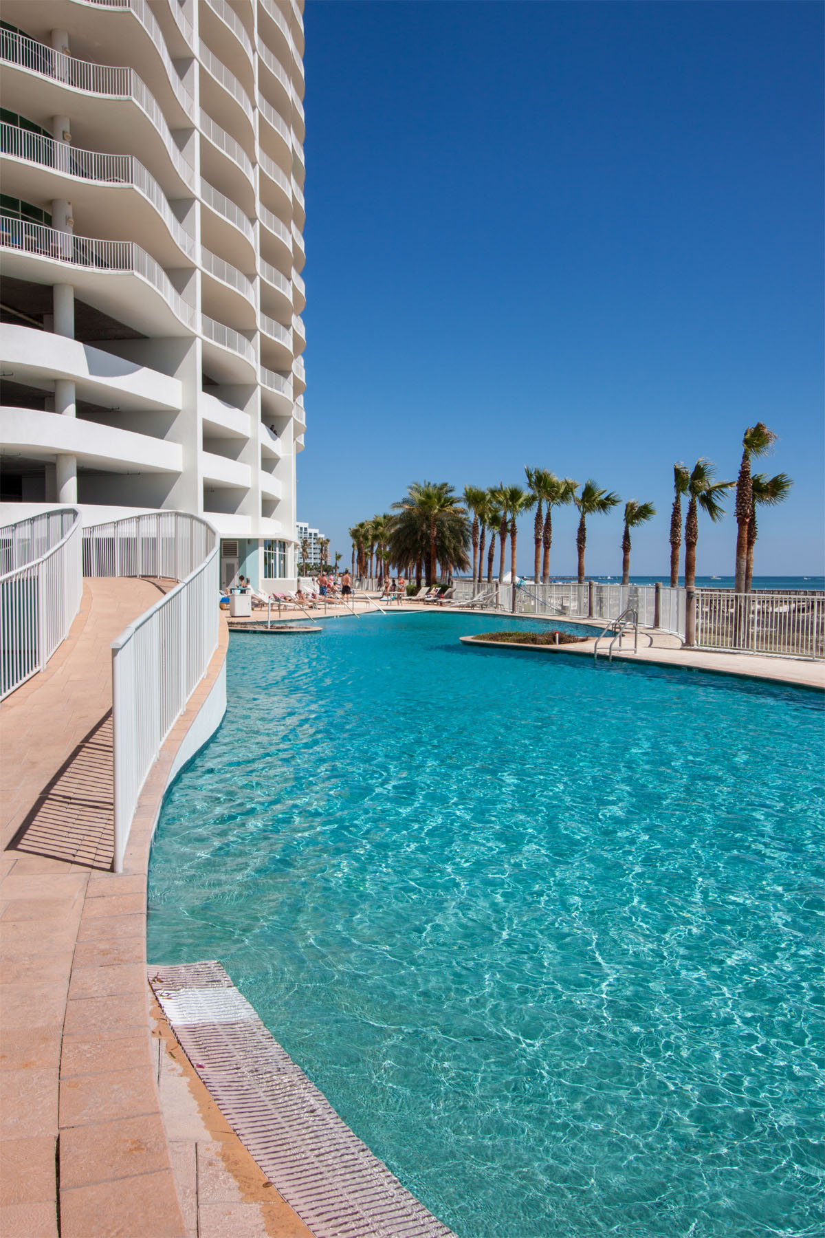 Turquoise Place Pool Walk Way